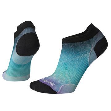 SmartWool Womens Run Ultra Light PhD Ombre Print Micro Sock