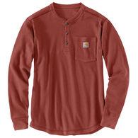 Carhartt Men's Tilden Waffle Knit Henley Long-Sleeve Shirt