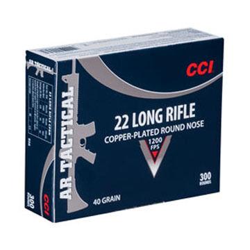 CCI AR Tactical 22 LR 40 Grain CPRN Rimfire Ammo (300)