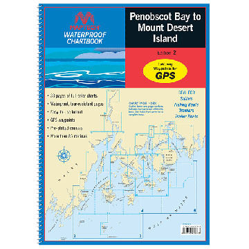 Maptech WPB Penobscot Bay to Mount Desert Island, 2nd Edition