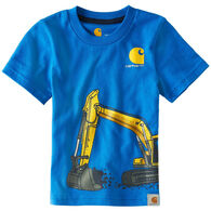 Carhartt Infant/Toddler Boys' Construction Wrap Short-Sleeve T-Shirt