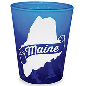 Cape Shore Maine - The Way Life Should Be Shot Glass