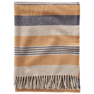 Pendleton Woolen Mills Horizon Stripe Lambswool Throw