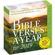 365 Bible Verses-A-Year 2019 Page-A-Day Calendar by Workman Publishing