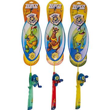 Zebco Children's Pond Patrol Spincast Combo