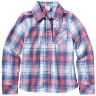 Carhartt Girl's Tartan Plaid Long-Sleeve Shirt
