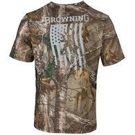 Browning Men's Buck Flag Short-Sleeve T-Shirt