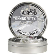 Crazy Aaron's Liquid Glass Crystal Clear Thinking Putty - 3.2 oz.