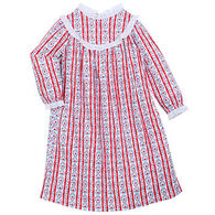 Lanz Of Salzburg Girls' Tyrolean Nightgown