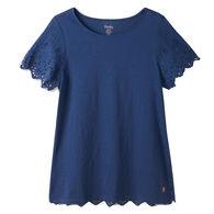 Hatley Women's Eyelet Short-Sleeve T-Shirt