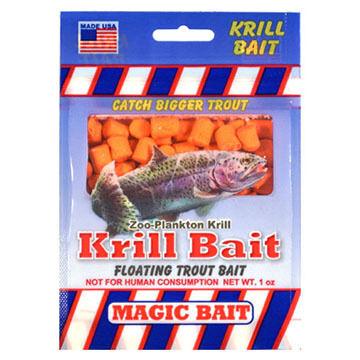 Magic Bait Floating Krill Trout Bait - 1 oz.