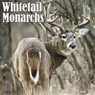 Willow Creek Press Whitetail Monarchs 2018 Wall Calendar