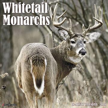 Willow Creek Press Whitetail Monarchs 2018 Wall Calendar