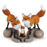 Big Sky Carvers Fox Family Figurine