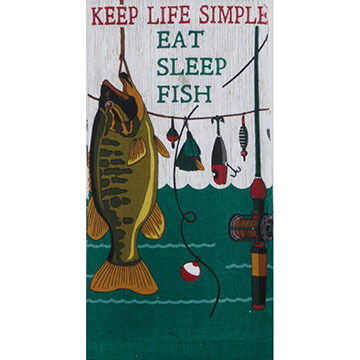 Kay Dee Designs Keep Life Simple Terry Kitchen Towel