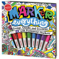 Klutz Marker Everything Book Kit by Klutz