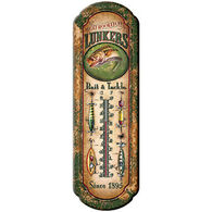Rivers Edge Lunkers Bait & Tackle Tin Thermometer