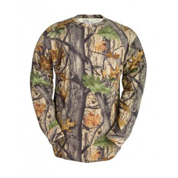 Codet Mens Wood N Trail Camo Long-Sleeve T-Shirt