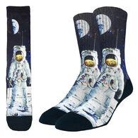 Good Luck Sock Men's Apollo Astronaut Crew Sock