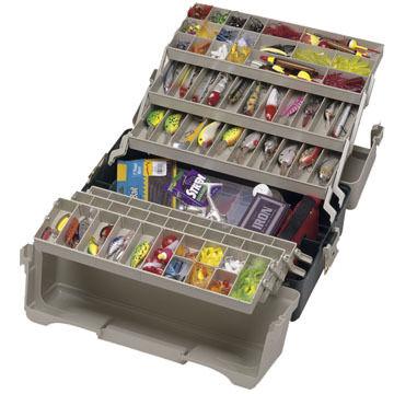 Plano Large Six Tray Tackle Box