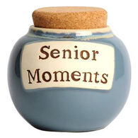Tumbleweed Pottery Classic Word Jar - Senior Moments