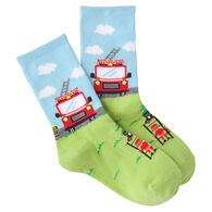 K. Bell Youth Fireman Crew Sock