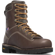 "Danner Men's Vicious 400g Insulated 8"" Non-Metallic Safety Toe Waterproof Work Boot"