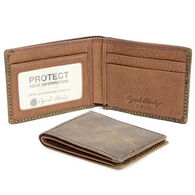 Osgoode Marley Men's RFID Ultra Mini Thinfold Distressed Leather Wallet