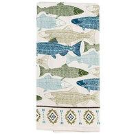 Kay Dee Designs Lake Retreat Fish Terry Kitchen Towel