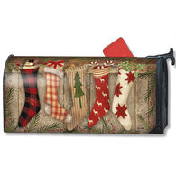MailWraps Christmas Stockings Magnetic Mailbox Cover