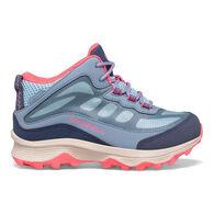 Merrell Girls' Big Kid Moab Speed Mid Waterproof Hiking Boot