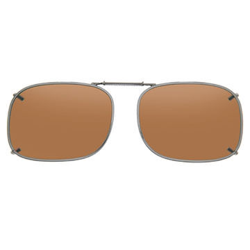 Cocoons Rectangle 1 Polarized Clip-On Sunglasses