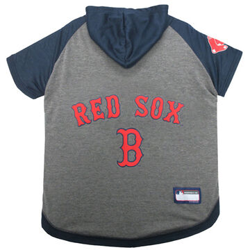 Pets First Boston Red Sox Dog Hoodie