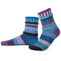 Solmate Women's Raspberry Crew Sock