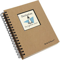 "Journals Unlimited ""Write It Down!"" Destinations My Lighthouse Journal"