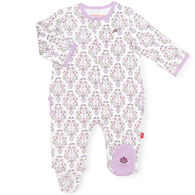 Magnetic Me Infant Girl's Unicorn Dreams Organic Cotton Magnetic Footie Pajama