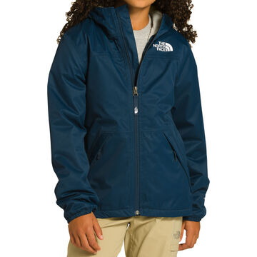 The North Face Girls Warm Storm Rain Jacket