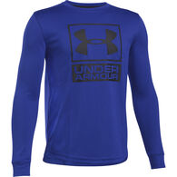 Under Armour Boy's Tech Textured Long-Sleeve Shirt