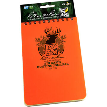 Rite In The Rain Big Game Hunting Journal