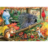 Outset Media Tray Puzzle - Eastern Woodlands