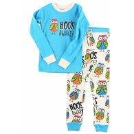 Lazy One Boys & Girls' Hoo's Awake PJ Set