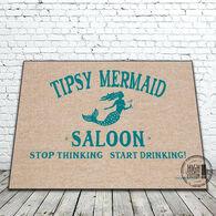 High Cotton Door Mat - Tipsy Mermaid Saloon