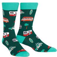 Sock It To Me Men's Day Tripper Crew Sock