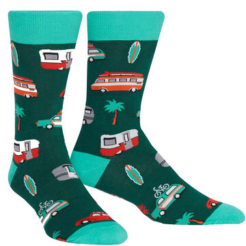 Sock It To Me Mens Day Tripper Crew Sock