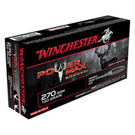 Winchester Power Max Bonded 270 WSM 130 Grain HP Rifle Ammo (20)