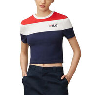 FILA Women's Maya Crop Short-Sleeve T-Shirt