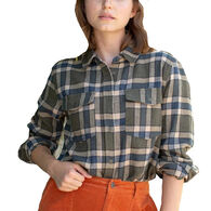 United By Blue Women's Responsible Flannel Long-Sleeve Shirt