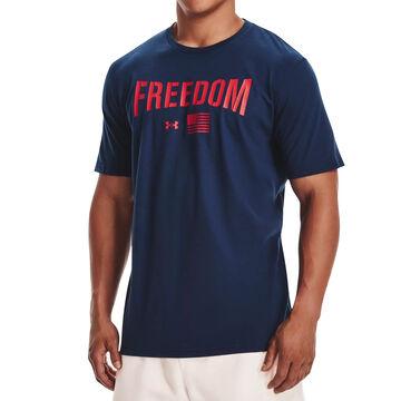 Under Armour Mens UA Freedom Lock Up Flag Short-Sleeve T-Shirt