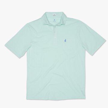 johnnie-O Mens Original Garment-Dyed Pique 4-Button Polo Short-Sleeve Shirt