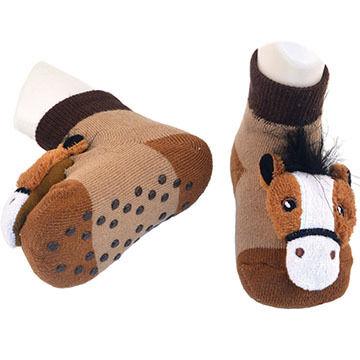 Liventi Boy's & Girl's Toddler Rattler Sock